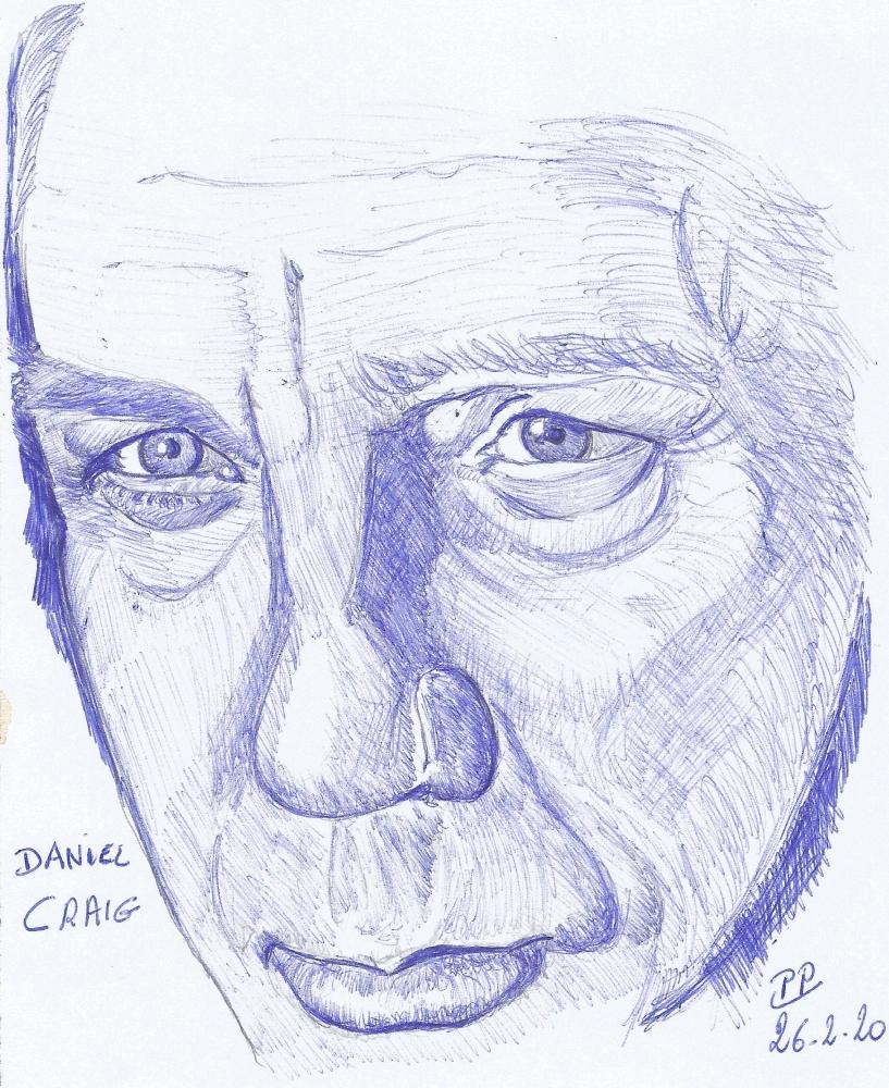 Daniel Craig por Patoux
